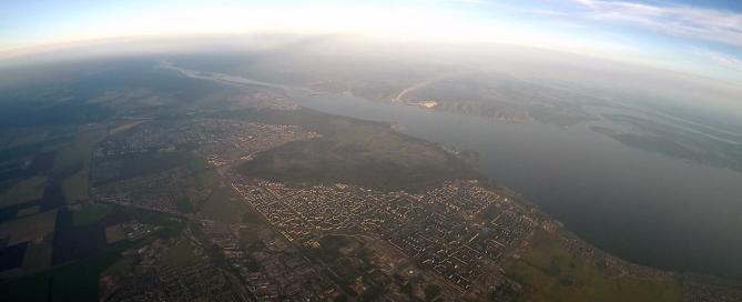 Рекордный набор высоты в Тольятти